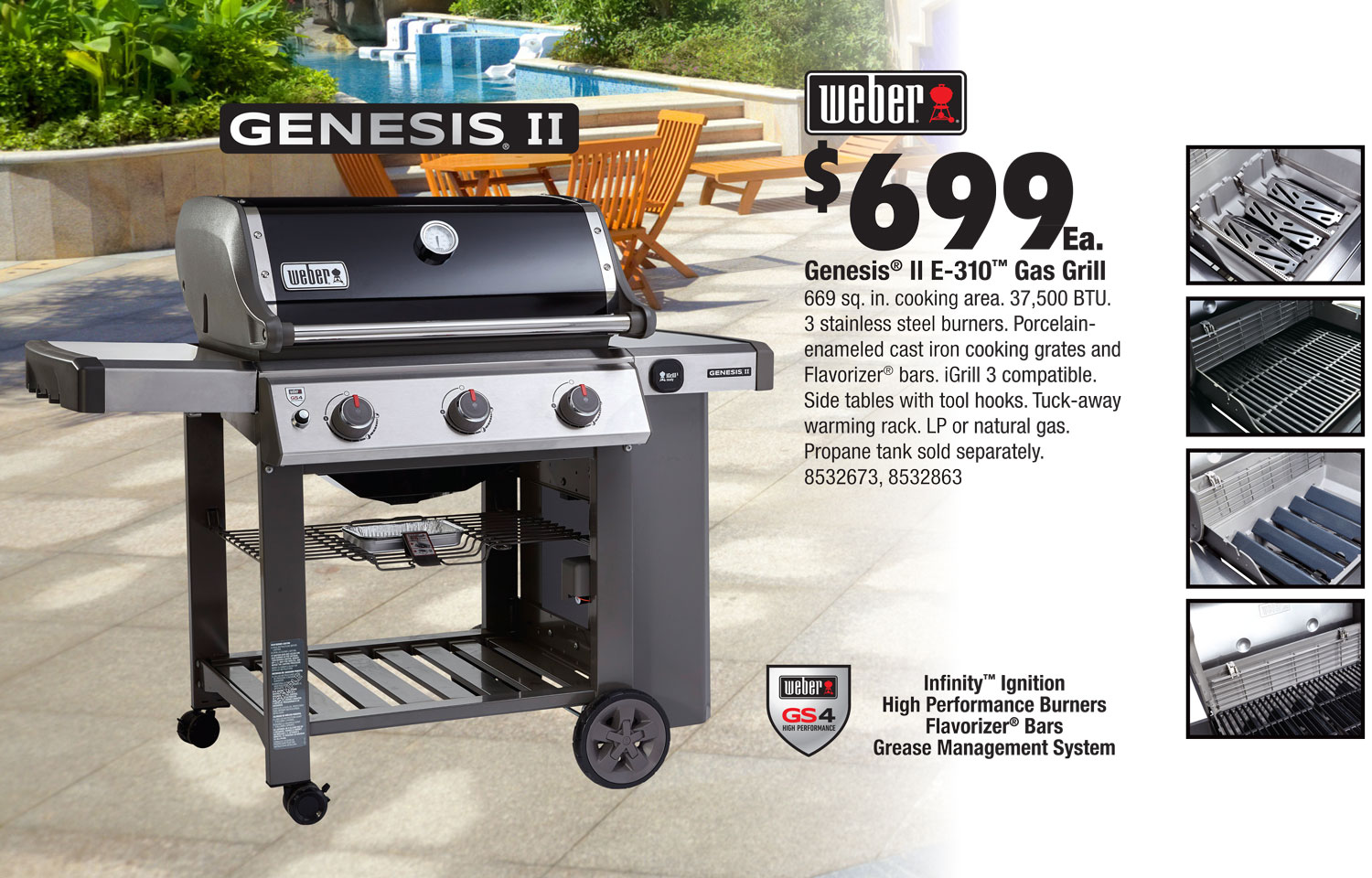 Weber Grills - Vision Ace Stores